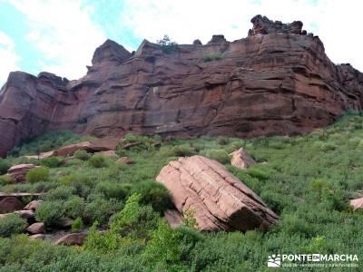Valle de los Milagros - Parque Natural Cueva de la Hoz;rutas culturales madrid jerte cerezos en flor